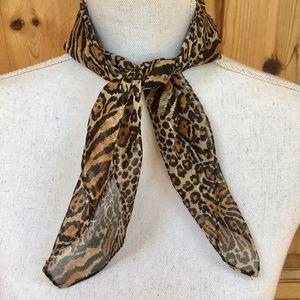 Baar & Beards Leopard/Cheetah Print Scarf